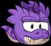 Puffle Tyranosaurio Morado