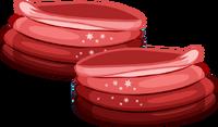 Botas Invierno rojas icon