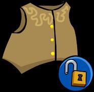 Cowboy Vest clothing icon ID 10217