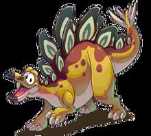 Dinosaurio estegosauro