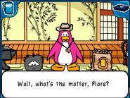 Flare upset