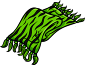 Green Zebra Scarf clothing icon ID 3116