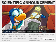 Scientific Announcement Part 1