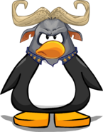 Chief Bogo Mask on a Player Card