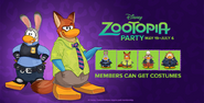 May 2016 Zootopia Party Homepage Screen