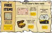 Rockhopper's Rare Items February 2009