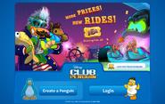 The Fair 2014 login screen