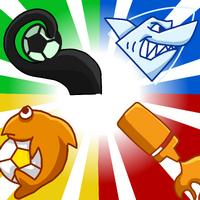 Fondo con las Banderas de los Equipos