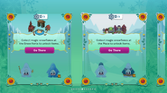 Frozen Fever Party 2016 app interface page 3