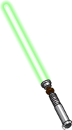 Lightsaber Green clean
