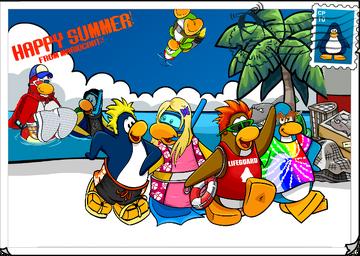 Mariocart25 Summer Postcard 2013