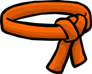 Orange Ninja Belt icon