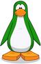 Pinguino verde