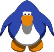 Old blue in game