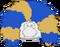 Peluca Afro Gigante icono