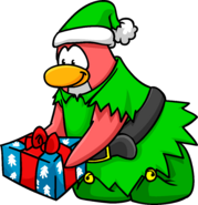 Image result for elf costume club penguin