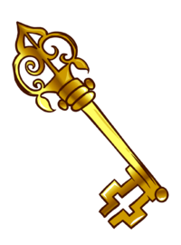 Pin de Llave Vieja icono