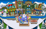 Plaza Fiesta Isla de Club Penguin 2