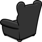Plush Gray Chair sprite 004