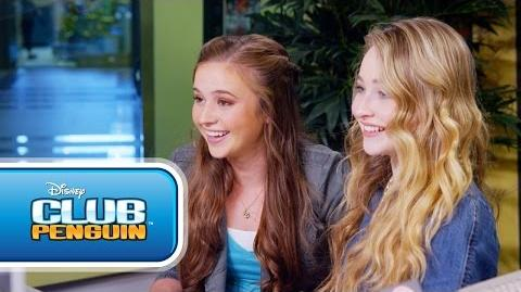 Club Penguin Sabrina Carpenter on Music Jam 2014 - Disney Channel's Game On-0