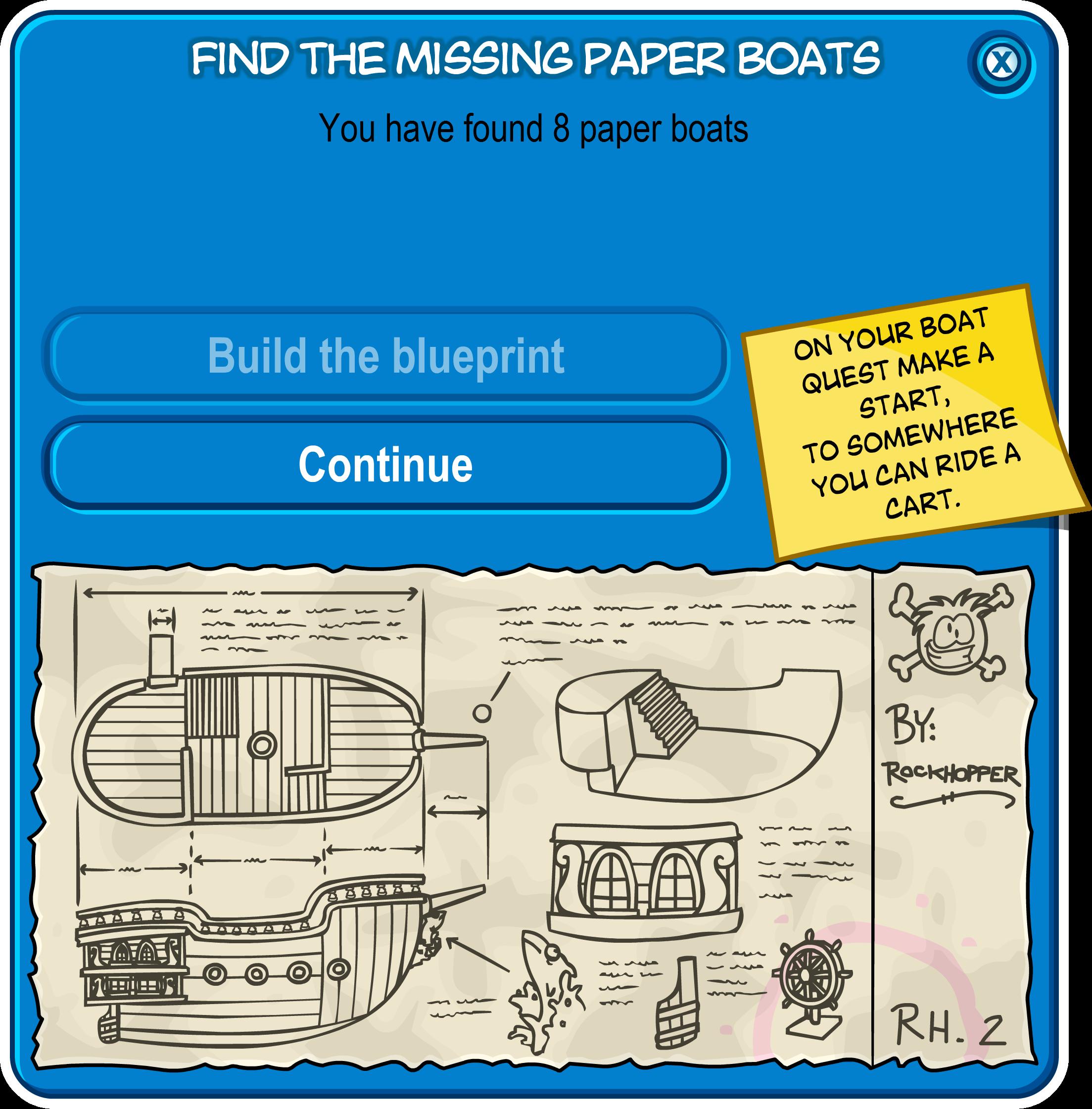 Image paper boat scavenger hunt 2008 build the blueprintsg paper boat scavenger hunt 2008 build the blueprintsg malvernweather Choice Image