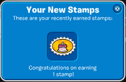 Stamp 183 days! prompt