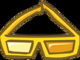 Gafas 3D de Oro