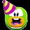Emoji de Fiesta Compartir