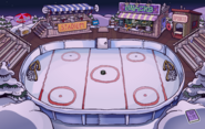 Hollywood Party Ice Rink