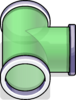 T-joint Puffle Tube sprite 071