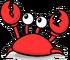 Klutzy crab
