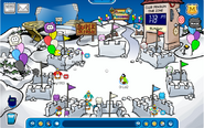 Puffleparty snowforts