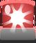 Emoticón de Sirena roja