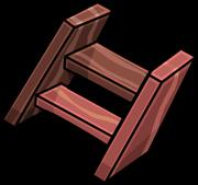 Escalera de Madera icono