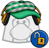 Green Indie Hat clothing icon ID 11434 updated
