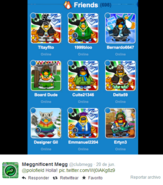 Lista de megg
