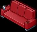 Red Designer Couch sprite 006