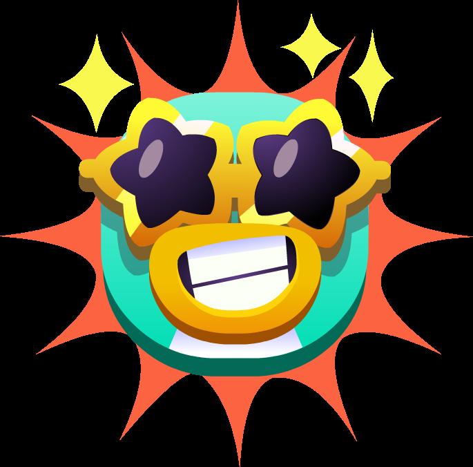 Emoji Penguin Superstar