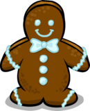 Gingerbread Man sprite 001