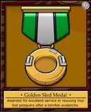 Golden Sled Medal