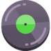 Music track feel good icon