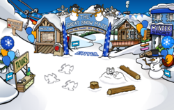 Winter Party Ski Village