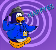 Happy65 design and bg