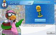 Penguin Cup Trophy Glitch