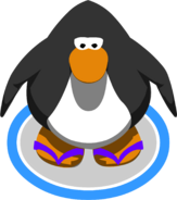 Purple Sandals ingame