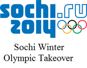 Sochi Winter Olympic Takeover