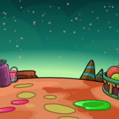 Alien World Background