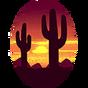 Calcomanía Puesta de Sol icono