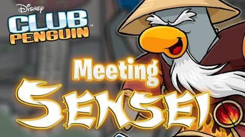 Club Penguin - Meeting Sensei (Chinese New Year Party) February 2013