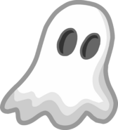 Halloween 2014 Emoticons Ghost